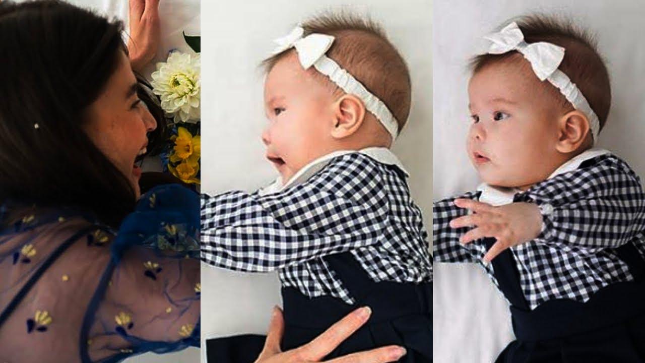 Anne Curtis NAHIRAPAN sa PHOTOSHOOT ni Baby Dahlia Amelie   Months of Life