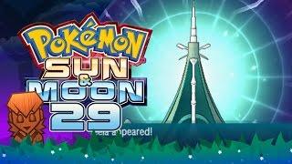 Pokemon sun & moon! #29: ub-04: blaster, catching celesteela!