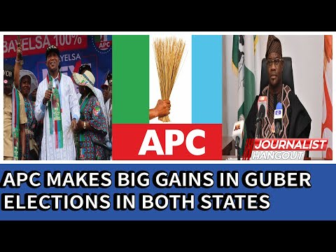 Bayelsa/Kogi Elections: APC Makes Big Gains, Wins Guber Elections In Both States