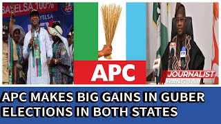 Bayelsa/Kogi elections: APC makes big gains, wins guber elections in both states