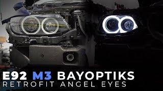 E92 M3 BayOptiks Headlight Retrofit