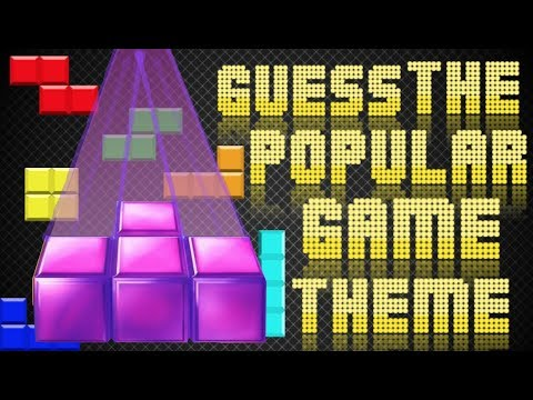 GUESS THE POPULAR VIDEO GAME THEME!!!