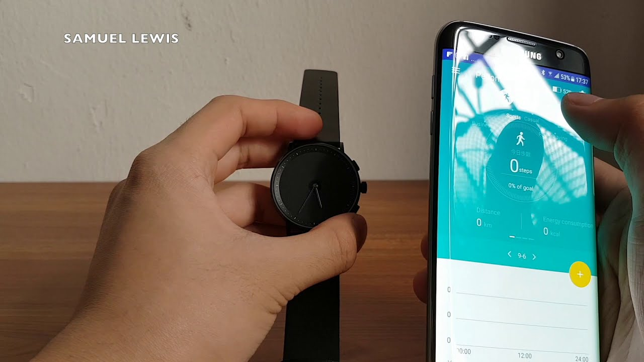 GLIGO Hybrid E-Ink Smartwatch - GIVEAWAY [ Review & Unboxing ]