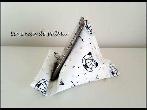 Support berlingot pour téléphone portable / mobile – Tuto couture ValMa Créas