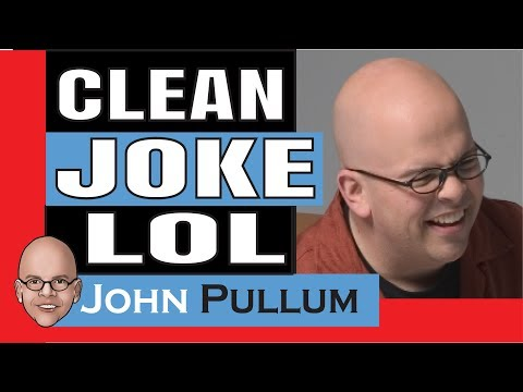 Clean Jokes, Corporate Comedian John Pullum 100% Clean