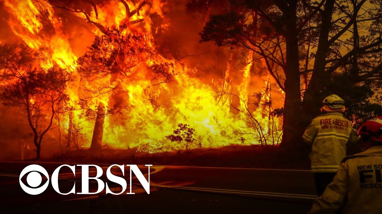 Bushfires spreading in Australia