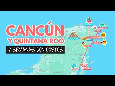 Ruta completa por Cancun y Quintana Roo con precios 2021