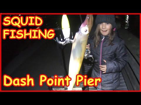 Squid Fishing At Night Puget Sound WA