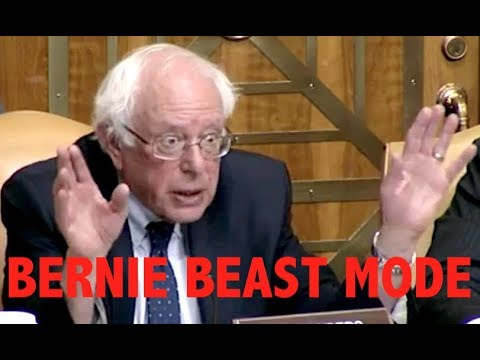"""THIS IS FRAUD!!!"" Bernie Sanders DESTROYS the Military-Industrial Complex During a Senate Hearing"