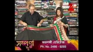 Jailakshmi Sarees on Zee Bangla Sampurna   2nd May, 2013