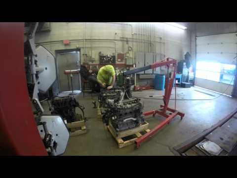 04 Chevy cavalier engine swap 3 (engine removal) | Doovi