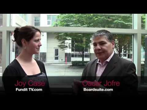 Oscar Jofre Interview at the Equity Crowdfunding in Canada Conference