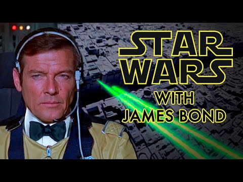 Star Wars With James Bond 007 Blowing Up The Death Star!