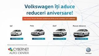 Volkswagen - Reduceri aniversare (Porsche Romania - 20 de ani de activitate)