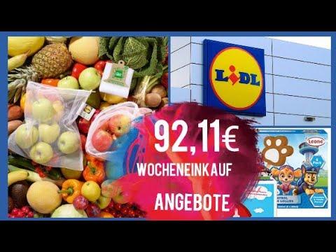 LIDL HAUL Wocheneinkauf Mit Preise / Günstig Einkaufen / Angebote | Mary Jano