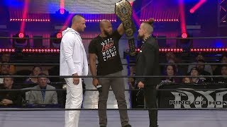 النتائج الخاصة بـ ROH / NJPW G1 Supercard PPV - في الحلبة