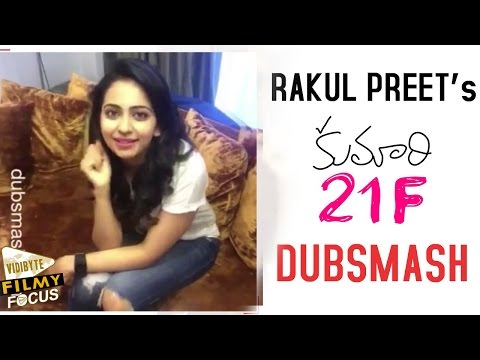Rakul Preet Singh Dubsmash - Kumari 21F Movie Dialogue - Filmy Focus