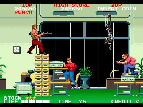 Arcade Longplay [338] Crime City