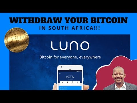 Withdraw Your Bitcoins In South Africa - Luno
