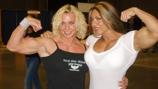 Collection Muscle women! FBB! Female Bodybuilding! Girl Muscles! female biceps