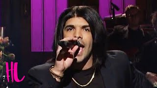 Drake Incredible Rihanna 'Work' Impression On SNL - VIDEO