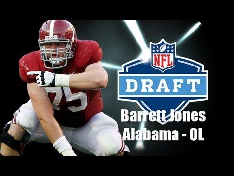 Barrett Jones - 2013 NFL Draft Profile