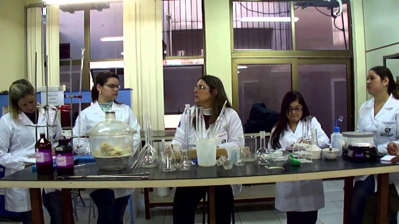 Vidrarias de laboratorio de quimica