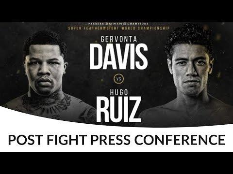 Gervonta Davis vs Hugo Ruiz POST FIGHT PRESS CONFERENCE