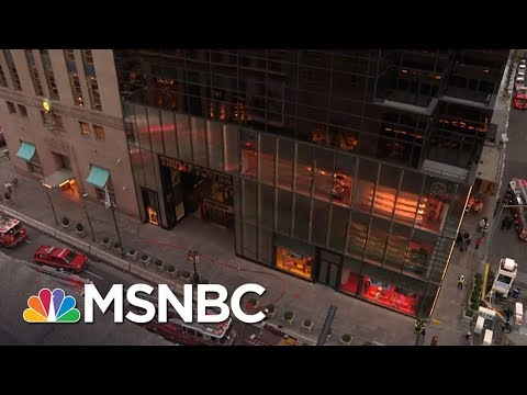 Fire On The 50th Floor Of Trump Tower In New York City | MSNBC