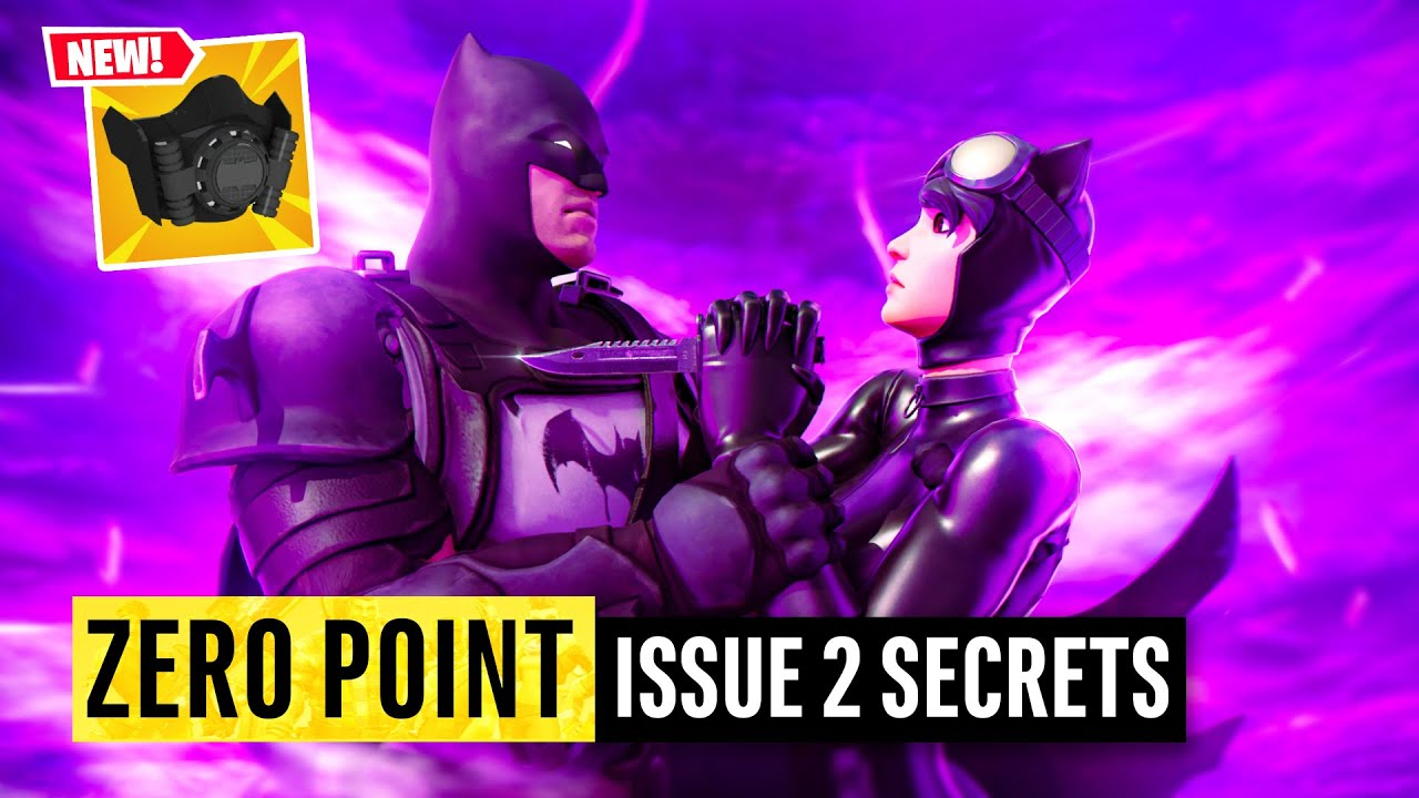 Batman Fortnite Zero Point Issue 2 | Easter Eggs and Details You Missed