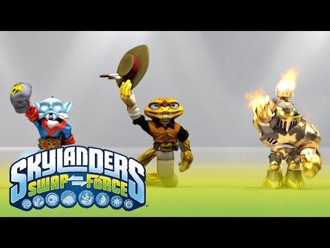 E3 S: Official Skylanders SWAP Force
