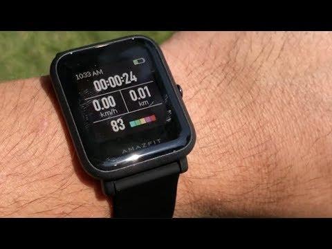 El smartwatch que vale la pena comprar Huami Amazfit BIP