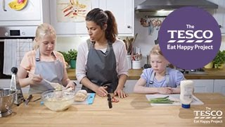 Yummy Cheesy Rolls With Apple Slaw In 7 Minutes - Eat Happy Project Recipes For Children