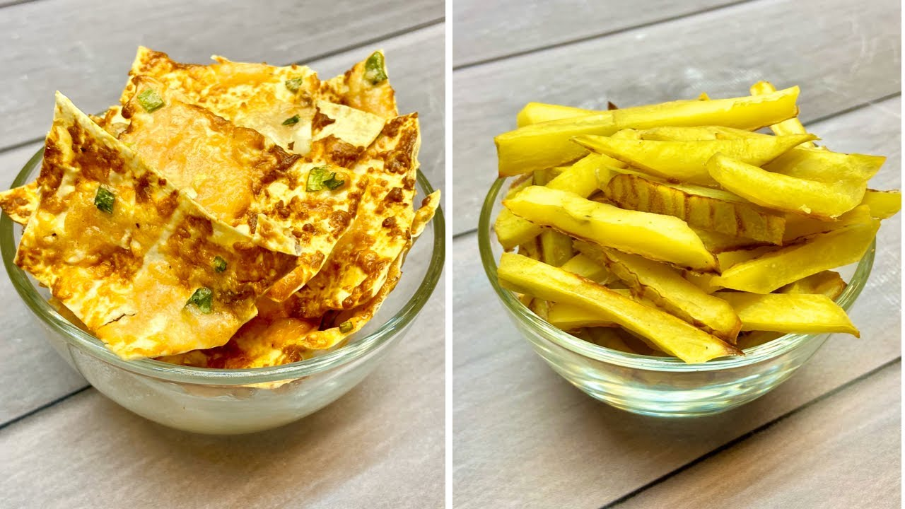 3 Easy & Healthy Snack Recipes For Weight Loss | Non Fried ...