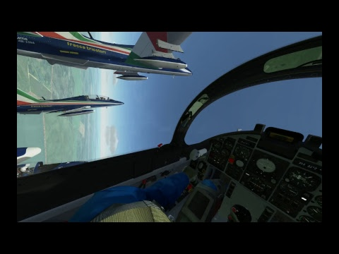FTV Free flight 28/10/17 pilot view