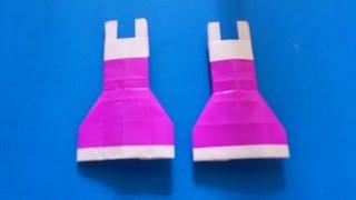 Cara Membuat Origami Baju | Origami Baju
