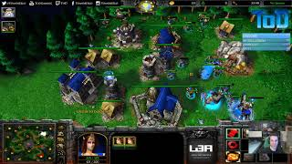 Warcraft III #575 - mannerhack Human vs Orc (Twisted Meadows)