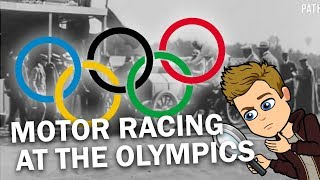 When Motor Racing was an Olympic Sport (sort of)
