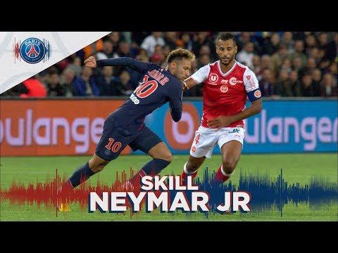 SKILLS / GESTE TECHNIQUE : NEYMAR JR - PARIS SAINT-GERMAIN vs REIMS