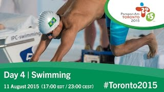 Day 4 | Swimming | Toronto 2015 Parapan American Games