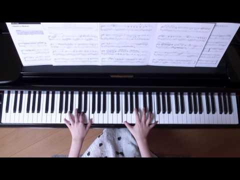 使用楽譜;美しく響くピアノソロ スタジオジブリ名曲集1、 2017年1月3日 録画 ISBN 978-4-636-90843-5、 JASRAC CODE 1411507-603.