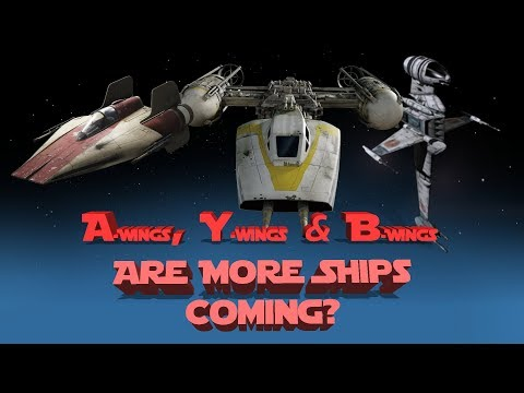 A-Wings, B-Wings, & Y-Wings: SWGOH Ships I Want: Thanks Han's Falcon
