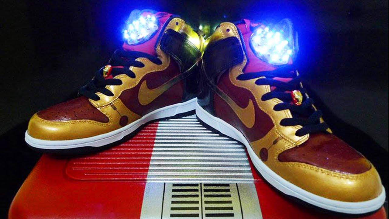 Zapatos Iron Man para hombre Ey2c84