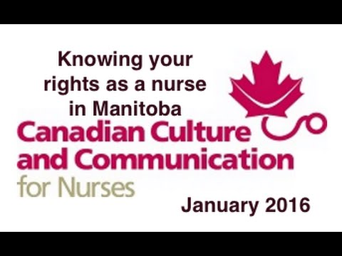 Knowing your rights as a nurse in Manitoba