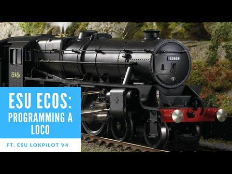 27. ESU ECOS How To: Programme A Locomotive. Ft. Lokpilot V4