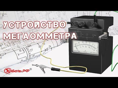 Схема мегаомметра. Устройство и принцип работы мегаомметра.