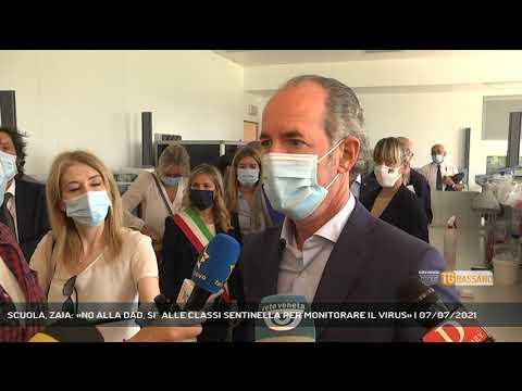 SCUOLA, ZAIA: «NO ALLA DAD, SI'  ALLE CLASSI SENTINELLA PER MONITORARE IL VIRUS» | 07/07/2021