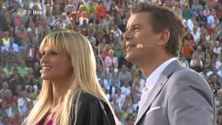 Stefan Raab und Jürgen Drews - Ein Bett im Kornfeld 2013 | Wetten Dass
