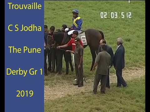 Trouvaille With C S Jodha Up Wins The Pune Derby Gr 1 2019