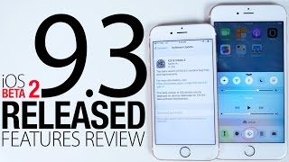 iOS 9.3 Beta 2 Released! New Features Review